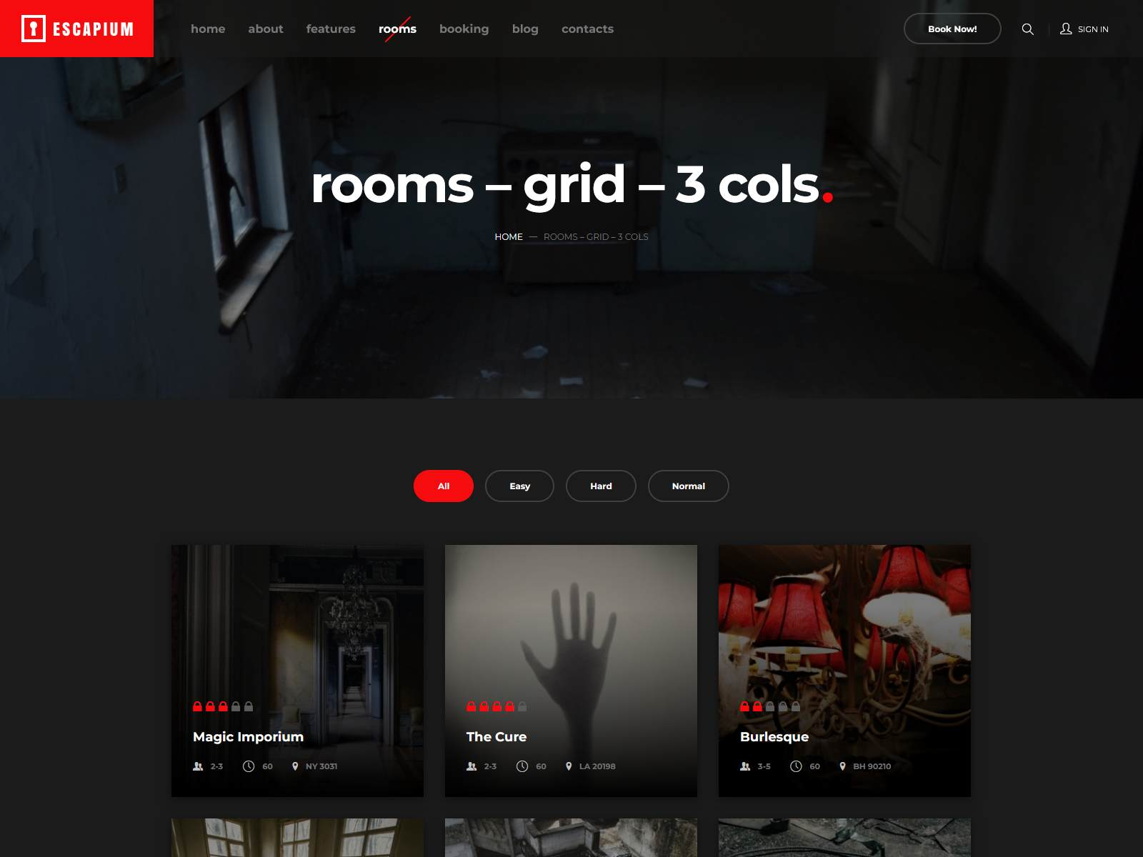 Best Premium Escape Room WordPress Themes